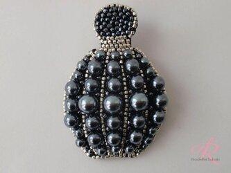 Le flacon de parfum 香水瓶 ガンメタパールの画像