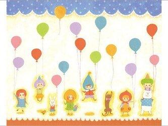 ポストカード「おめでとうのこどもたち」の画像