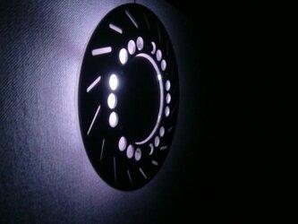 バイクディスクブレーキローター照明 の画像