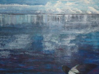 海を渡る風の画像