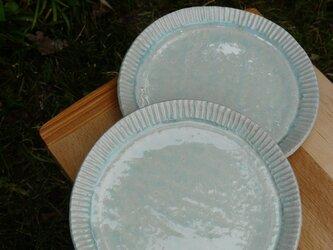 ぎざぎざふちの皿(大)の画像