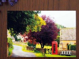 ポストカード同柄5枚組 英国コッツウォルズの風景Bの画像