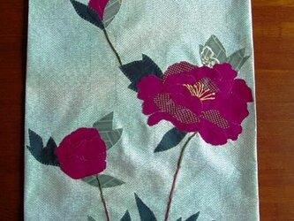 和布絵の壁掛け ~牡丹Ⅱ~の画像