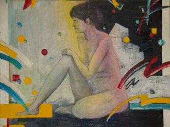 素肌の女の画像