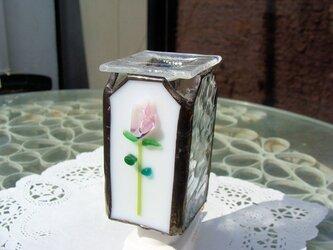 アロマ足元ランプ バラの画像