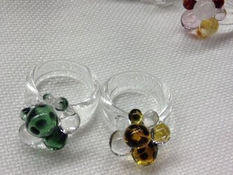 GLASS BUBBLES RINGの画像