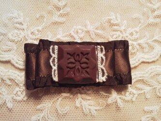 M様ご予約品チョコレートバレッタ*ビターの画像