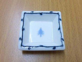 角豆皿「木」の画像