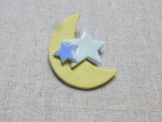 月星ブローチの画像