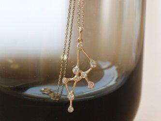 twinkle-pendant-K10YG2の画像