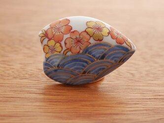帯留 桜の画像