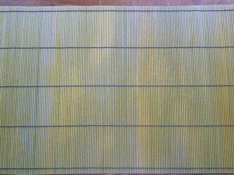すだれのマット 三分四本・表揃えの画像