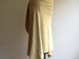 Prana skirt わかば色/オーガニックコットンスカートの画像