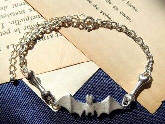 蝙蝠&骨のブレスレットの画像