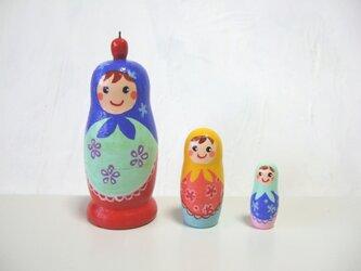 キラキラずきん三姉妹・マトリョーシカの画像