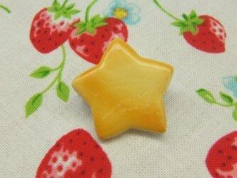 星とスクエアの型抜きクッキーブローチセットの画像