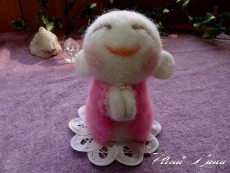こ地蔵さん[【Y様オーダー品】ピンク(ローズクオーツ)の画像