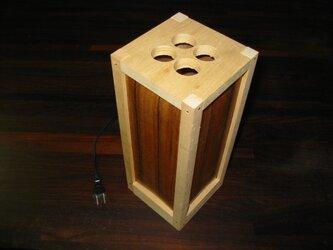 木製LED行灯組立キットの画像