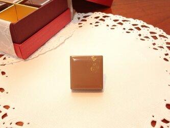 うるし ちょこブローチ(金箔)ⅱの画像