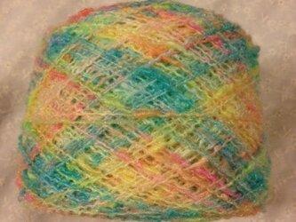 手染め糸⑧ パステル系 132gの画像