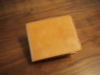 【選べる革とステッチ】マネークリップ 財布 【名入れ可】の画像