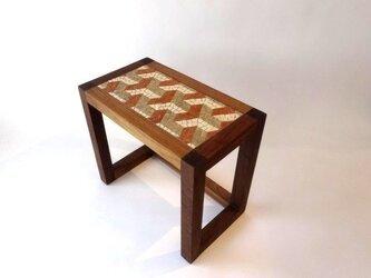 『Y』ipsilon Table (S) 赤 H300mmの画像