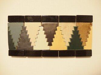 モロッコタイルモザイク 壁掛け の画像
