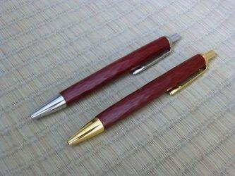 かまくらボールペン(朱・刀痕)の画像