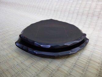 おむすび皿(黒)の画像
