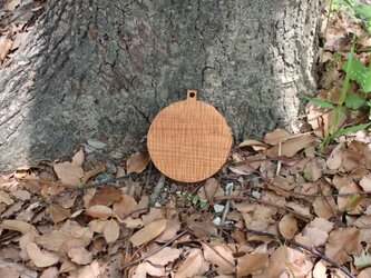 Cutting Board(S丸彫りあり)けやき材の画像