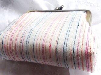虹色 シルク村山大島紬の画像