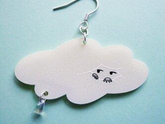 雲の毛布ピアスの画像
