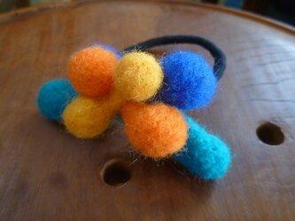 羊毛フェルトのポコポコゴムの画像