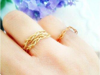 braid ringの画像