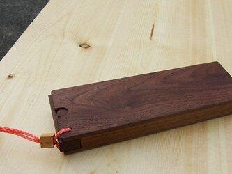 木の筆箱 ペンケースの画像