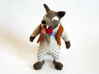 【オーダー作品】オオカミの画像