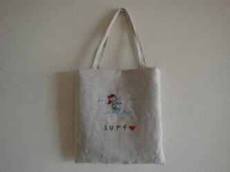 おさんぽバッグ サーフガールの画像