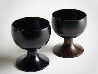溜内黒デザートカップの画像