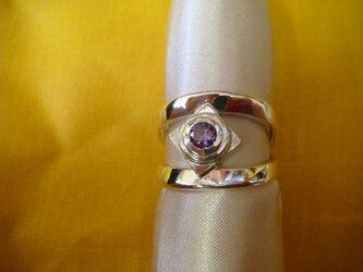 銀製 指輪の画像