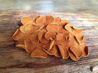 革花のバレッタ 7cm  7の画像