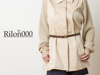 ≪リメイク1点物≫ニット袖切替ジャケット:M Sizeの画像