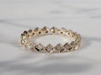 K18 Eternity ring [R043K18YG]の画像