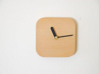 K様ご注文 ビーチの四角い時計の画像