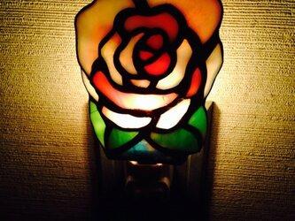 おやすみランプ 薔薇(yoshiko yano)の画像