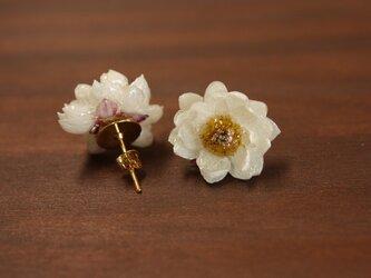 【再販】花かんざしのピアスの画像