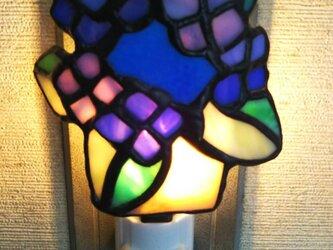 おやすみランプ 紫陽花(yoshiko yano)の画像