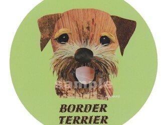 ボーダー テリア《犬種名ステッカー/小型犬》の画像