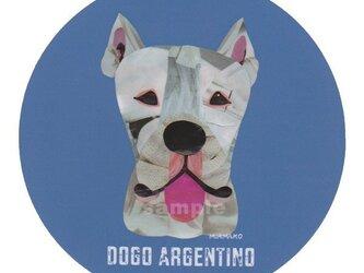 ドゴ アルヘンティーノ《犬種名ステッカー/大型犬》の画像