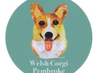 ウェルシュ コーギー ペンブローク《犬種名ステッカー/小型犬》の画像