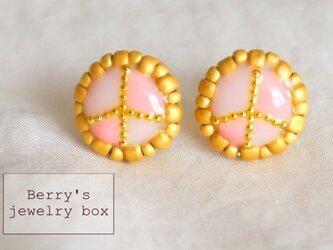 【sale】tiny peace pierceの画像